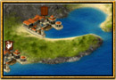 Skärmdump från Grepolis - Karta